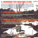 Duran Duran - Burning The Ground (back cover)