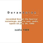 Duran Duran - Cadiz 1989 (back cover)