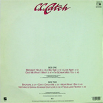 C.C.Catch - Hear What I Say (back cover)