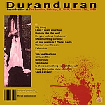 Duran Duran - The Pavilion Chicago 1989 (back cover)