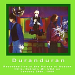 Duran Duran - Detroit 89 (back cover)
