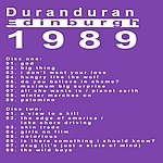 Duran Duran - Edinburgh 89 (back cover)