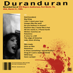 Duran Duran - Fort Worth 1989 (back cover)
