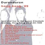 Duran Duran - Hong Kong 89 (back cover)