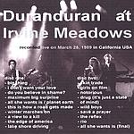 Duran Duran - Irwine Meadows (back cover)