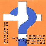 Duran Duran - Los Angeles 1989 (back cover)