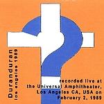 Duran Duran - Los Angeles 1989 (back cover)