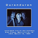 Duran Duran - Merrillville 89 (back cover)