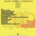 Duran Duran - Big Miami Thing (back cover)