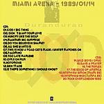 Duran Duran - Big Miami Thing (back cover)