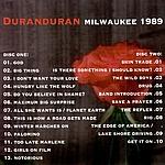 Duran Duran - Milwaukee 89 (back cover)