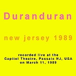 Duran Duran - New Jersey 89 (back cover)