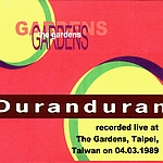 Duran Duran - The Gardens Taiwan (back cover)