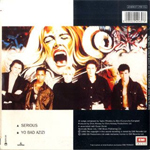 "Duran Duran - Serious 7"" (back cover)"