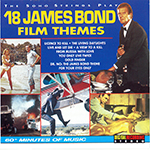 Tribute - 18 James Bond Film Themes (cover)