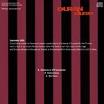 Duran Duran - Vota la Voce (back cover)