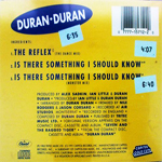 Duran Duran - Capitol Gold Cuts (back cover)