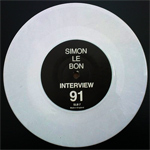 Simon LeBon - Interview 91 (back cover)