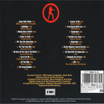 Various - The Best Of James Bond (back cover)
