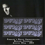 Duran Duran - Live At Denver 1993 (cover)