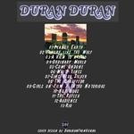Duran Duran - Live In Denver 1993 (back cover)