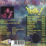 Duran Duran - Fiesta (back cover)