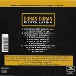Duran Duran - Fiesta Latina (back cover)