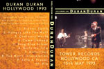 Duran Duran - Hollywood 1993 (cover)