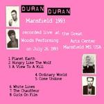 Duran Duran - Mansfield 1993 (back cover)
