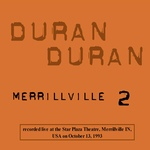 Duran Duran - Merrillville 2 (back cover)