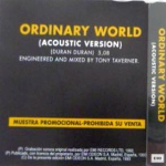 Duran Duran - Ordinary World (back cover)