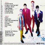 Duran Duran - Live In Pretoria 93 (back cover)