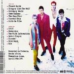 Duran Duran - Live In Pretoria 93 (back cover)