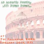 Duran Duran - The Palladium Roma (cover)
