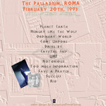 Duran Duran - The Palladium Roma (back cover)