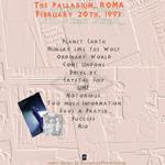 Duran Duran - The Palladium Roma (back cover)