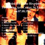 Duran Duran - On Tour 2 - St.Louis (back cover)