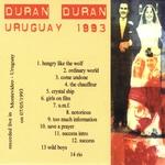 Duran Duran - Uruguay 1993 (back cover)