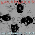 Duran Duran - Live In Evanston (cover)
