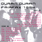 Duran Duran - Fairfax 1994  (back cover)