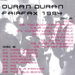 Duran Duran - Fairfax 1994  (back cover)