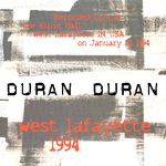 Duran Duran - West Lafayette (back cover)