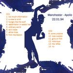 Duran Duran - Manchester 1994 (back cover)