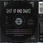 Shut Up And Dance - Save It Till The Morning After (back cover)
