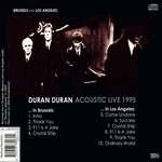 Duran Duran - Acoustic Live (back cover)