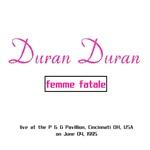 Duran Duran - Femme Fatale (back cover)
