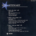 Rod Stewart - You´re The Star (back cover)