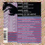 Duran Duran - White Lines (back cover)