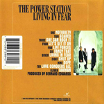 Power Station - Living In Fear (back cover)