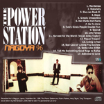 Power Station - Nagoya 1996 (back cover)